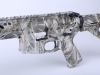 Bacon Maker AR-15 Hydro-dipped with Proveil Reaper Buck Camoflage - This is a special hydro-dipped weapon we did for a customer