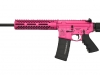 We have no shame - This is a custom Bacon Maker AR-15 we did for a customer and finished it out in Pink Cerakote.